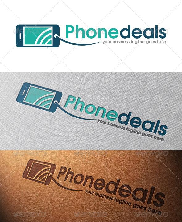 Phone Deals Logo Template