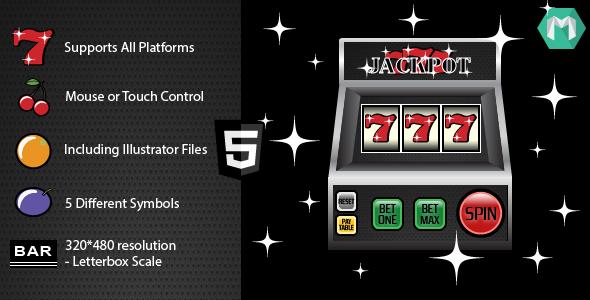 Automat do gry HTML5: Jackpot 777