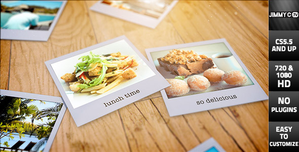 3D Photos - Summer Holiday Polaroids