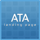 Ata Business/Corporate Landing Page Template - ThemeForest Item for Sale