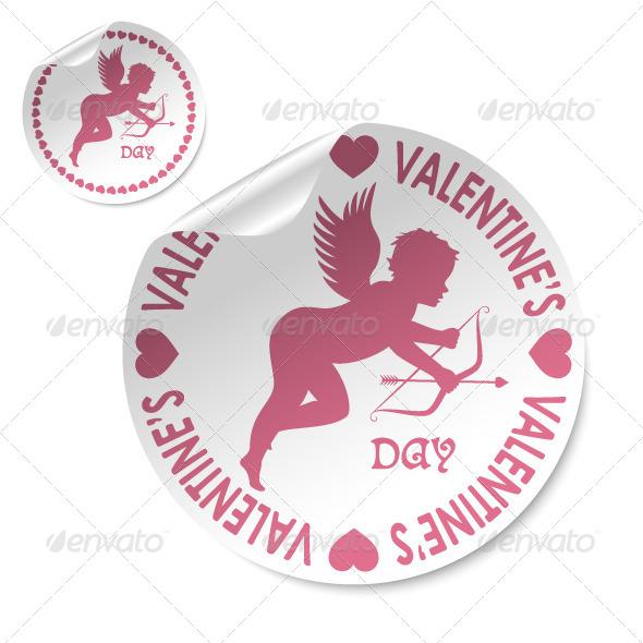 Happy Valentines Day Stick