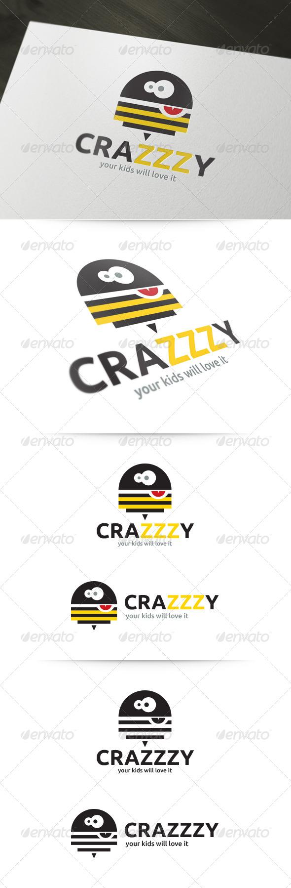 Crazy Bee Logo