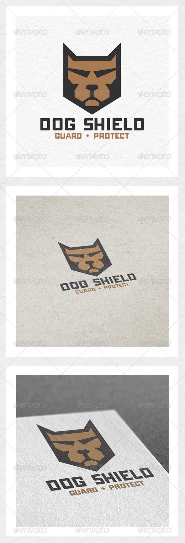 Dog Shield Logo Design