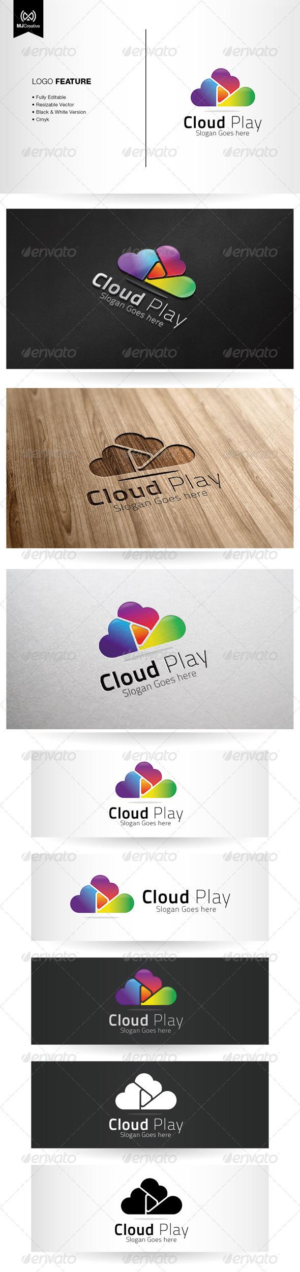 Cloud Play Logo