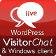 WordPress Live Chat with Web- & Windows Clients - CodeCanyon Item for Sale
