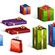 Gifts Isolated - GraphicRiver Item for Sale