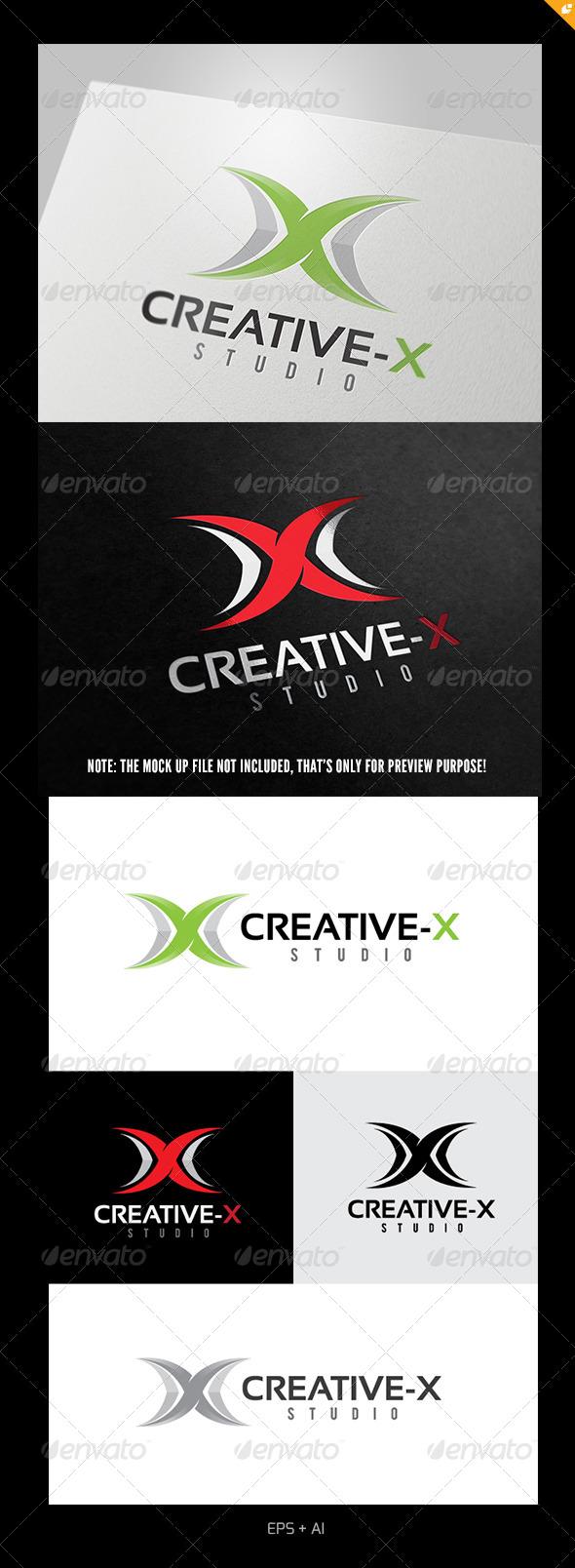 Creative X Logo