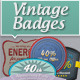 Vintage Badges - Matte Series - GraphicRiver Item for Sale