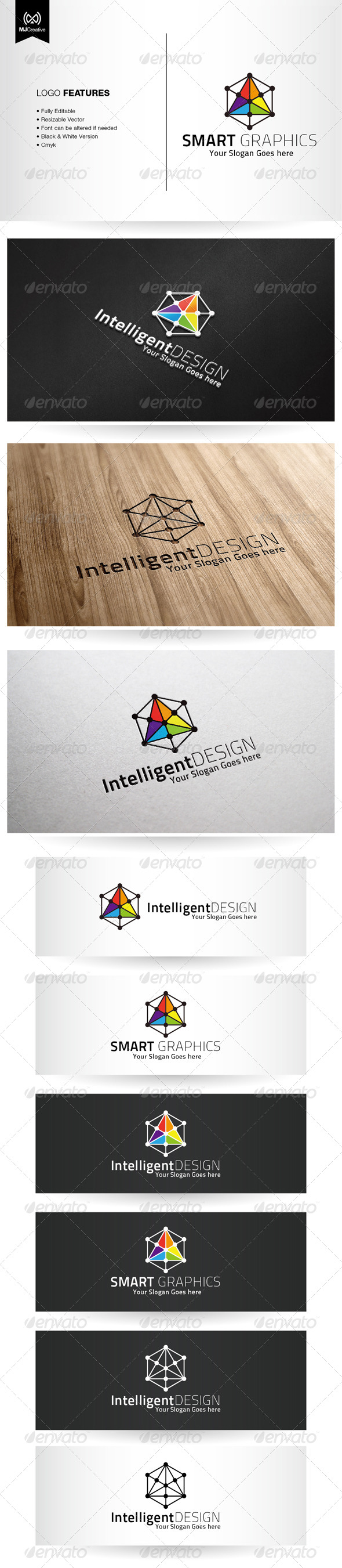 Graphics and Industrial Logo