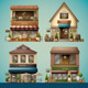 Shop Front Illustration - GraphicRiver Item for Sale