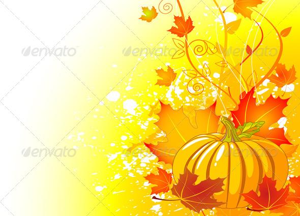 Autumn Place Card