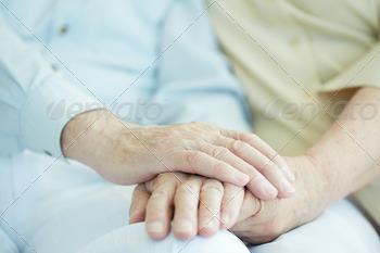 Download Hands of seniors