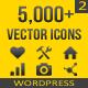 5,000+ Vector Icons SET 2 - WordPress - CodeCanyon Item for Sale