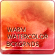 11 Handmade Warm Watercolor Backgrounds - GraphicRiver Item for Sale