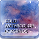 11 Handmade Cold Watercolor Backgrounds - GraphicRiver Item for Sale