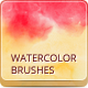 12 Watercolor Handmade Brushes  - GraphicRiver Item for Sale