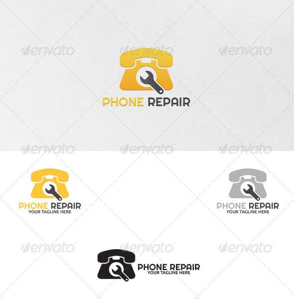 Phone Repair - Logo Template