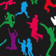 Jumping People Silhouettes - GraphicRiver Item for Sale