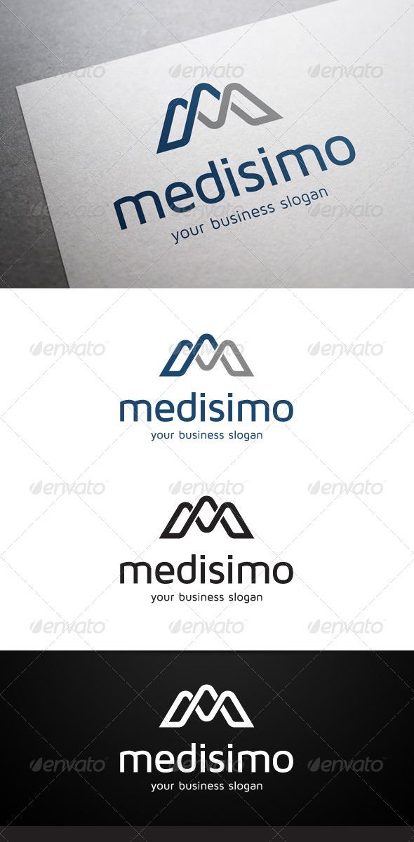 Medisimo M Letter Logo