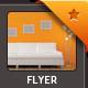 Interior Design Flyer / Magazine Ad  - GraphicRiver Item for Sale