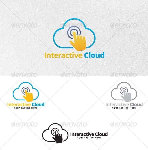 Interactive Cloud - Logo Template