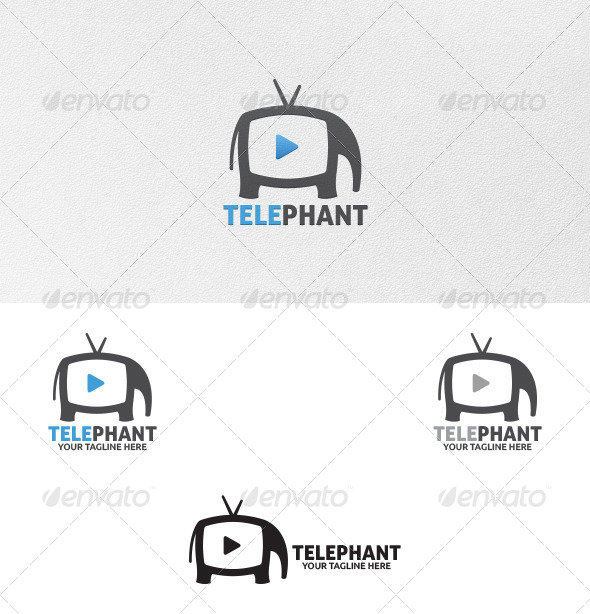 Elephant Media - Logo Template