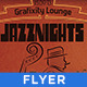JazzNights -Vintage/Retro Poster & Flyer  - GraphicRiver Item for Sale