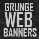 Grunge Web Banners - GraphicRiver Item for Sale