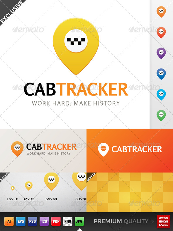 Cab Tracker Logo