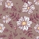 Seamless Pattern with Abstract Flowers - GraphicRiver Item for Sale