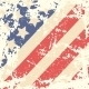 Retro Background with American Flag - GraphicRiver Item for Sale