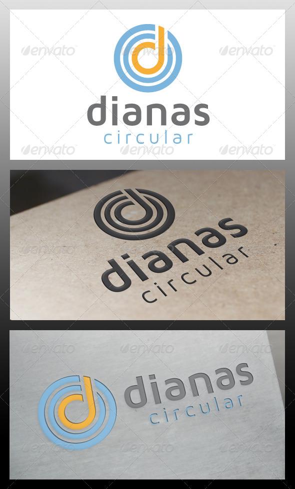 Dianas Letter D Logo Template