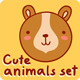 Animal Faces Set - GraphicRiver Item for Sale