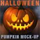 Halloween Pumpkin Mockup - GraphicRiver Item for Sale