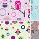 Owls Patterns - GraphicRiver Item for Sale