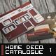 A5 Home Decoration Catalogue Template - GraphicRiver Item for Sale