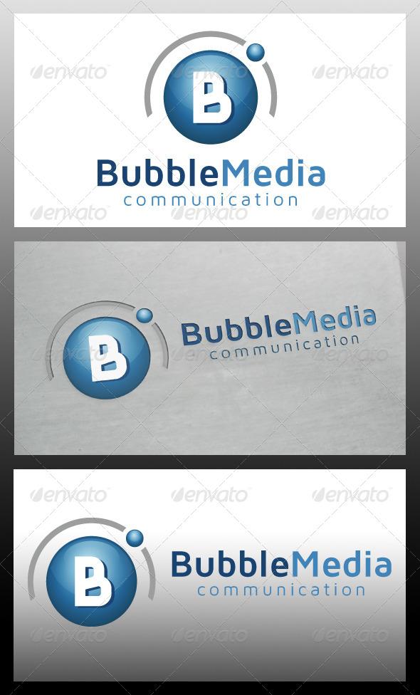 Bubble Media Logo Template