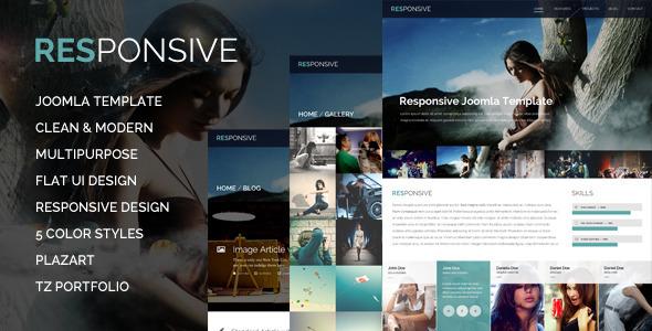 Responsive - Multi-Purpose Joomla Template