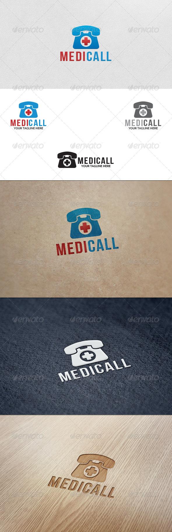 Medical Call -  Logo Template