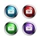 Shiny Camera Buttons - GraphicRiver Item for Sale