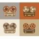 Retro Reel to Reel Tape Recorder Icon - GraphicRiver Item for Sale