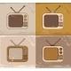 Retro TV Set Icons - GraphicRiver Item for Sale