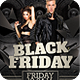 Black Friday Club Flyer Template - GraphicRiver Item for Sale