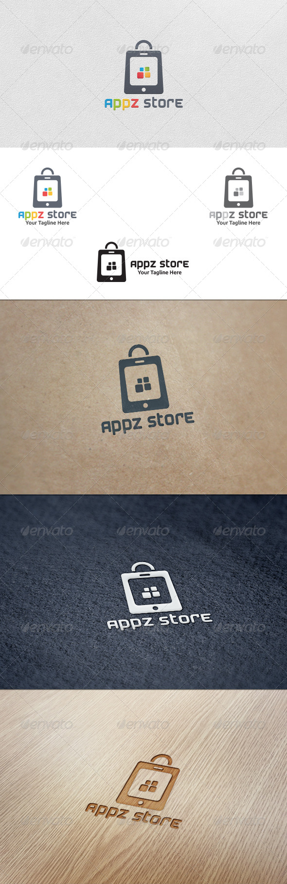 Apps Store - Logo Template