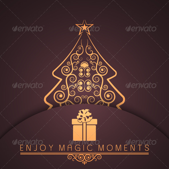 Merry Christmas Holiday Background