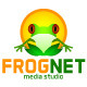 Frognet Studio Logo - GraphicRiver Item for Sale