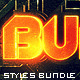 Metal Text FX BUNDLE - GraphicRiver Item for Sale