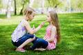 Little girls in park - PhotoDune Item for Sale