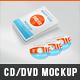 Realistic DVD/CD Mockup White Case & Disks  - GraphicRiver Item for Sale