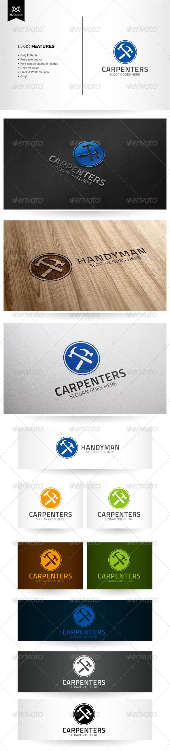 Handyman and Carpentry Logo